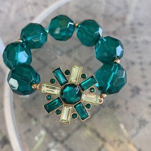 Emerald Kate Spade Sparkle Bracelet 💚